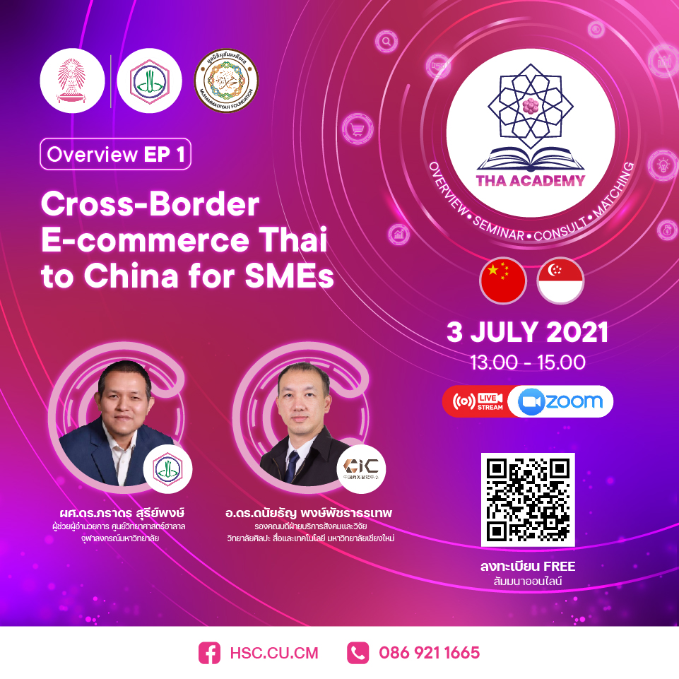 Cross-Border E-commerce Thai to China for SMEs
