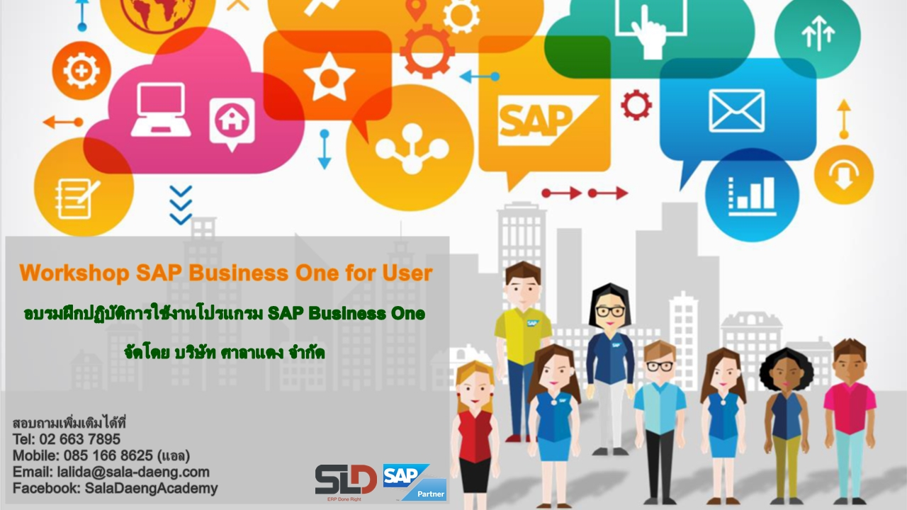 ERP SAP Business One Workshop